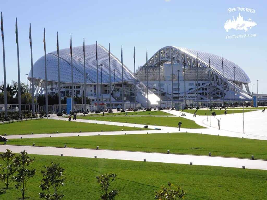 Stadium in Sochi for the 2018 World Cup