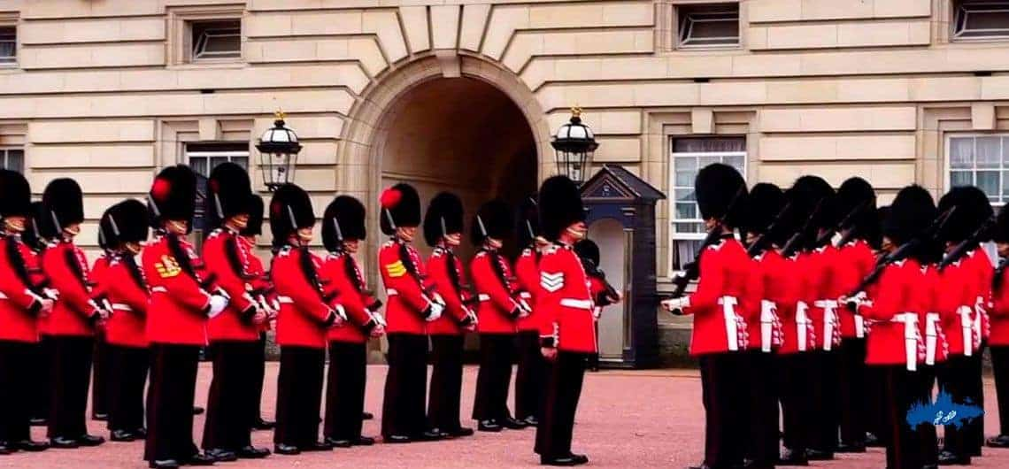 The Guard Corps at the Gates of St. Petersburg