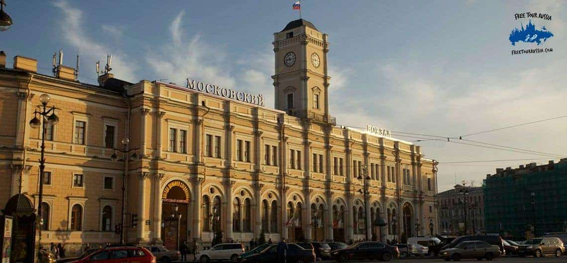 The Moscow Train Station
