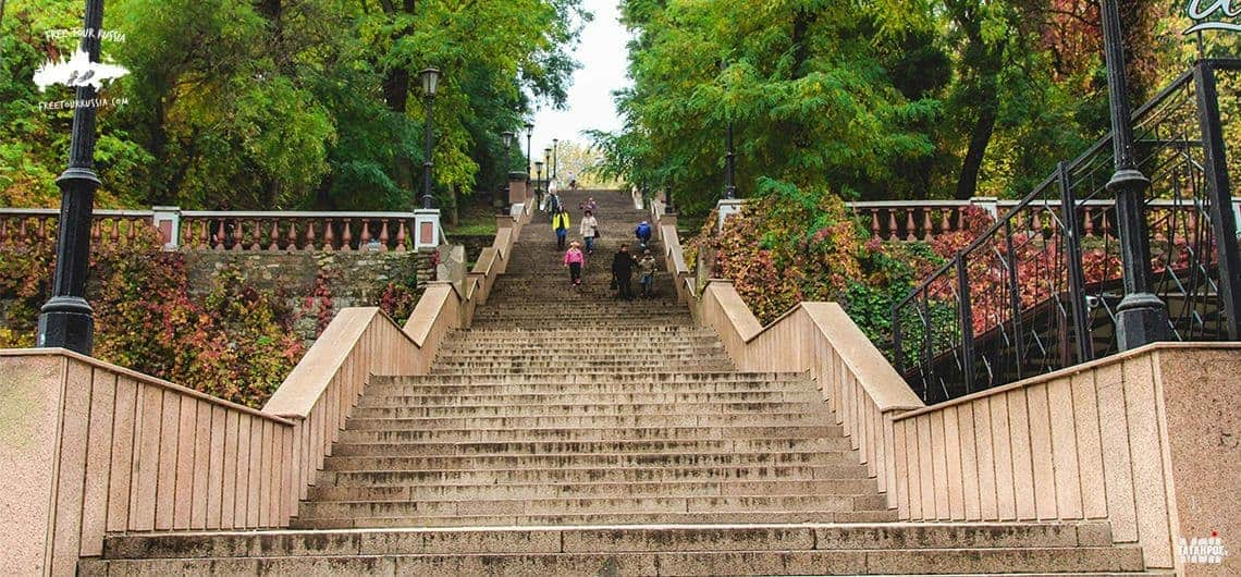 The Stone Staircase in Taganrog