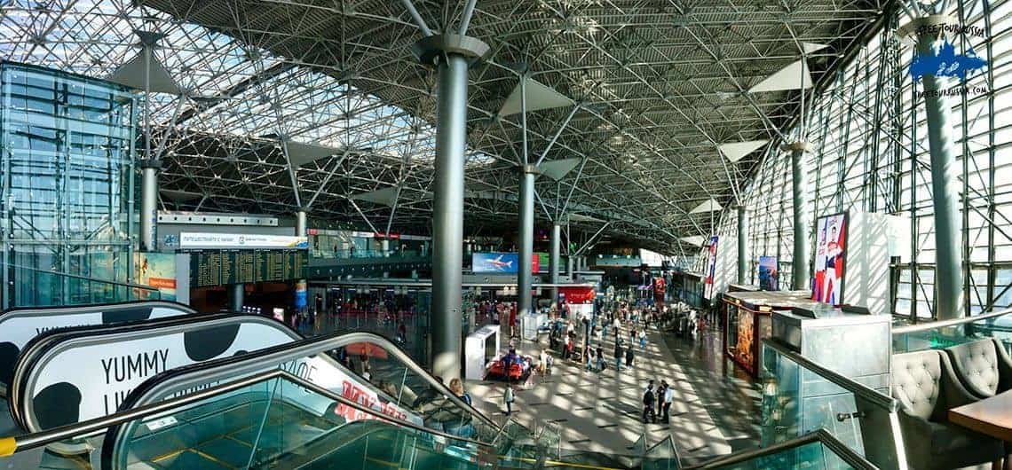 Vnukovo Airport of Moscow
