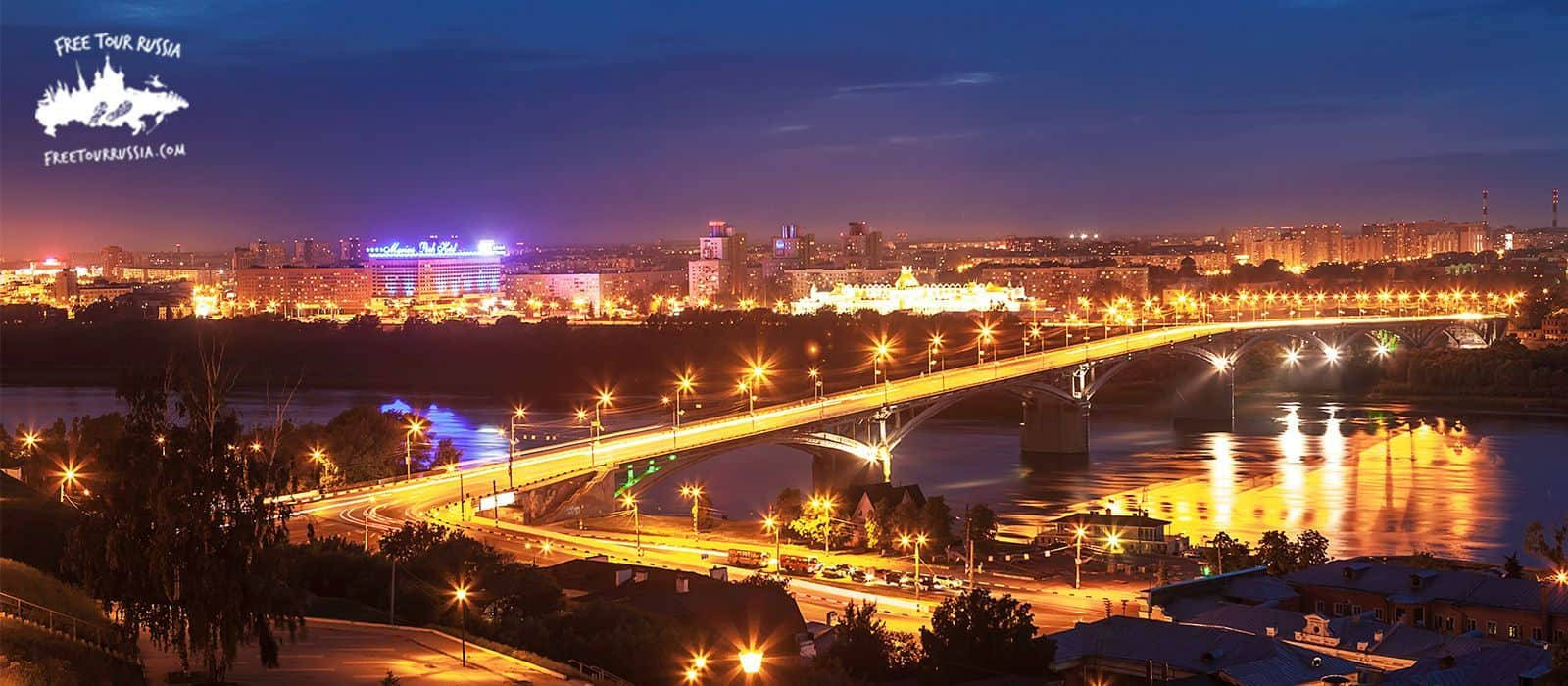 Night tour in Nizhny Novgorod