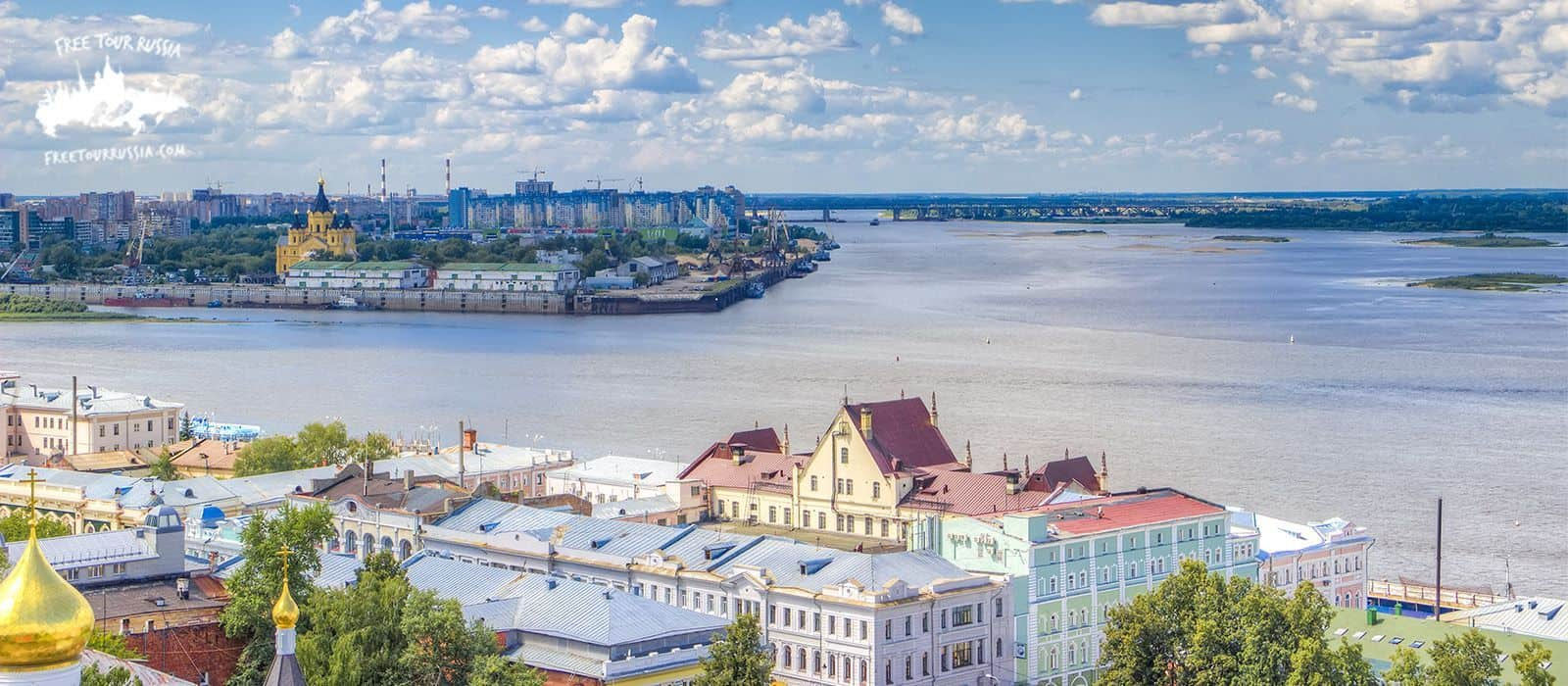 Tour through the Volga and Oka river by boat