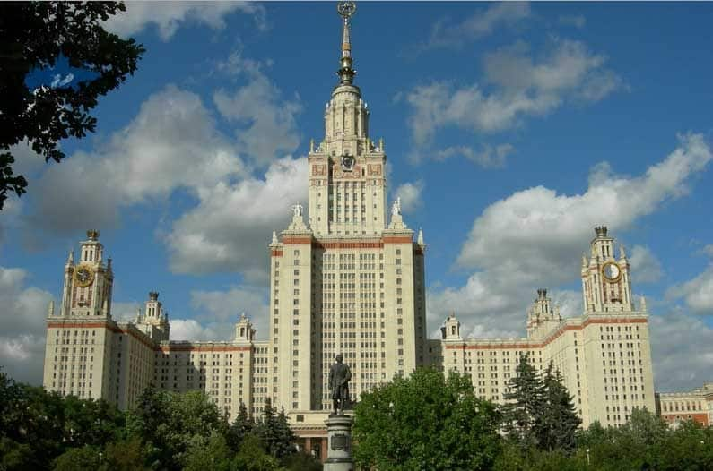 universidad estatal tour gratis rusia