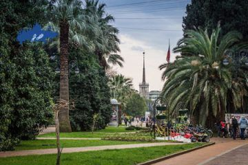 Paseo por Sochi; Excursion por Sochi; Tour Centro de Sochi central