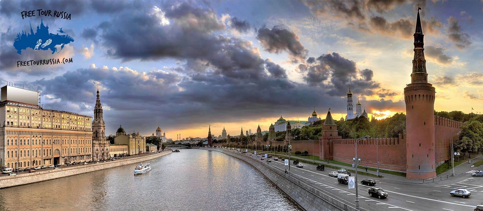 Panoramic Tour in Moscow
