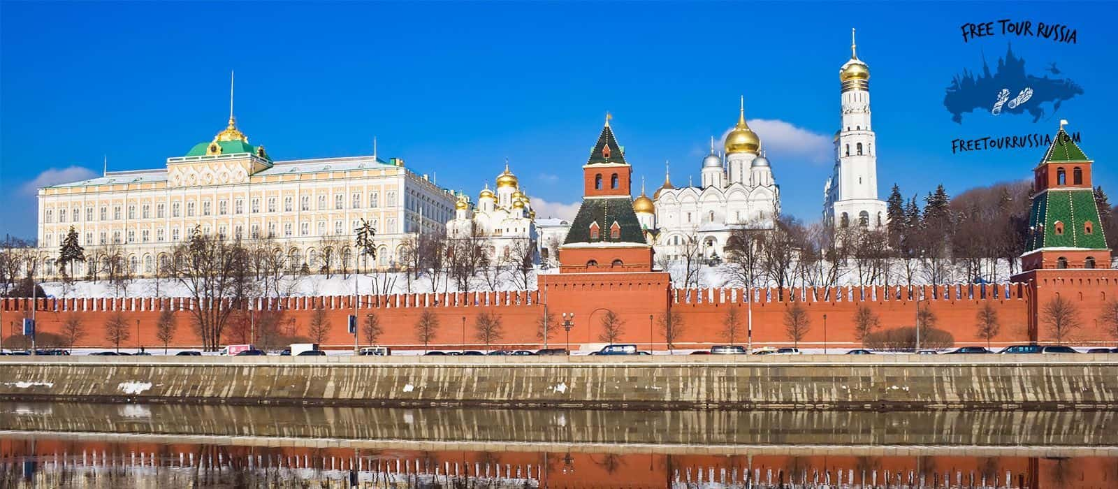 Historic Downtown Tour in Moscow in Summer