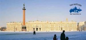 tour de invierno en san Petersburgo